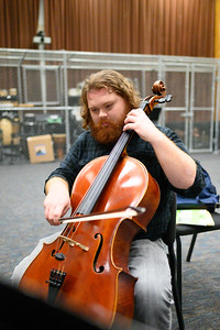 Music Education major Michael Reeces.