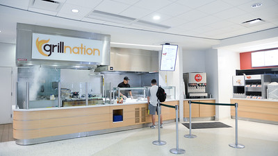 Grill Nation in The Cove located in the University Center caters to it's first Islander of the day.   FMI on where to eat on campus and what restaurants are open during the summer: http://bit.ly/2tWRsNa