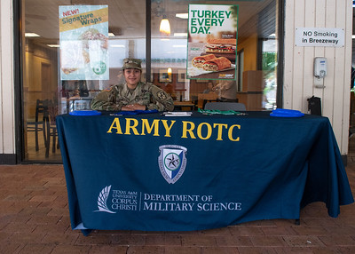 Jenieve Luna is ready to answer any questions about joining the Islander Army ROTC program.   Click on the link for more information about the program: http://bit.ly/2LTgiHh