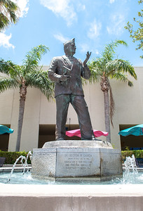 The Hector P. Garcia fountain was created to honor Dr. Hector P. Garcia, a medical doctor with many outstanding achievements, including founding the American G.I. Forum in 1948.   For more history on Dr. Hector P. Garcia, check out this link: http://bit.ly/2t78jOY