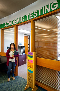 Cassandra Rangel stops by the Academic Testing Office in the Student Services Building to drop off her TSI scores as she will soon begin her first semester at TAMU-CC this fall.   Check out our Summer Prep Academy, a free program aimed at helping incoming/current TAMU-CC students pass the TSI! FMI: http://bit.ly/2kWOsOU
