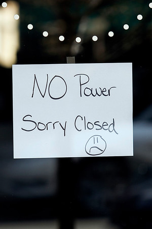 DOWNTOWN POWER OUTAGE