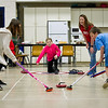 OLYMPIC CURLER VISIT