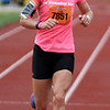 Record-Eagle/James Cook Nicole Mancini , or Warrenton, Va., won the women's 10K race at Saturday's Bayshore Marathon.