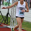 Record-Eagle/James Cook Tammy Nowik, of Clarkston, won Saturday's Bayshore Half Marathon.