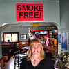 Record-Eagle/Vanessa McCray<br /> Nancy Freund, owner of Lil Bo Pub and Grille, chose to take her Traverse City bar smoke-free more than a year before a state law requires bars and restaurants to ban smoking.
