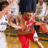 Record-Eagle/Jan-Michael Stump<br /> Dwuan Anderson is playing AAU basketball with the Michigan Mustangs this spring.