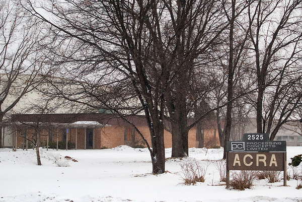 Record-Eagle/Jan-Michael Stump<br /> Northwestern Michigan College purchased this building on Aero Park Drive.