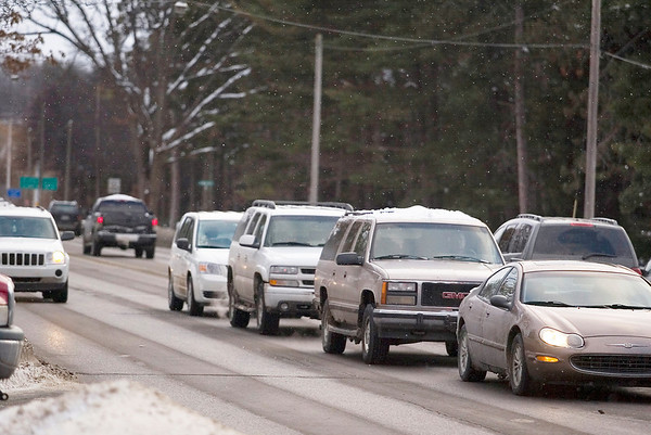 Record-Eagle/Jan-Michael Stump<br /> Traverse City commissioners tonight will discuss how to move forward with their plans to redesign Division Street.