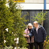Record-Eagle/Jan-Michael Stump<br /> Rob and Lydia Barton, of Crystal Lake Township, check out the Barker Creek Nursery display at the Habitat for Humanity Home and Garden Show on Friday. The show continues Saturday, 10 a.m. to 7 p.m., and Sunday, 10 a.m. to 4 p.m. at the Grand Traverse Civic Center.