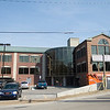 Record-Eagle/Jan-Michael Stump<br /> Work nears completion on the new medical office building at the corner of West Front Street and Division Street in Traverse City. Grand Traverse Surgery and Hand Surgery of Northern Michigan are both putting the finishing touches on their offices, and plan to open Monday.
