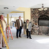 Record-Eagle/Jan-Michael Stump<br /> The Brookside Inn in Beulah plans to reopen in June this year after extensive renovations by new owners Art and Maureen Jeannot, right, and general manager Steve Hamilton, left.