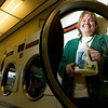 Record-Eagle/Jan-Michael Stump<br /> Ruth Smith created a non-toxic, environmentally friendly laundry detergent called Selestial Soap with her business partner Jim Legato at Eastfield Laundry.