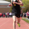 Record-Eagle/Jan-Michael Stump<br /> Traverse City Central's Kyle Dotterer wins the 1600-meter run at the Ken Bell Invitational Track Meet.