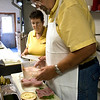 Record-Eagle/Douglas Tesner<br /> Roger and Gean Sladek are retiring after a long career in the food service business. Traverse City's reputation as a foodies' haven is owed in part to Roger Sladek, one of the trend's founding fathers.Sladek has been part of the area's food scene since age 12.