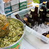 Record-Eagle/Douglas Tesner<br /> Traverse City Microbrew & Music Festival was all about good beer, good food and good music. More than 34 craft breweries offered their wares at the event at The Village at Grand Traverse Commons in Traverse City Saturday.