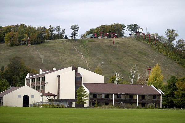 Record-Eagle file photo/Jan-Michael Stump<br /> Sugar Loaf resort, located on nearly 500 acres in Cleveland and Centerville townships, has been shuttered since 2000.