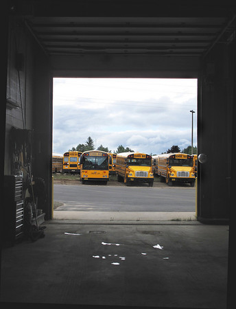 Record-Eagle/Lindsay VanHulle<br /> Some Traverse City Area Public Schools start times and bus routes will change this year as administrators cut $500,000 from the district's transportation budget.