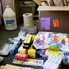 Record-Eagle/Keith King<br /> School supplies that will be used at the Leelanau Montessori Public School Academy this coming school year lie on the floor of a classroom Monday, August 16, 2010 after being unpacked.
