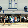 "Record-Eagle file photo/Jan-Michael Stump<br /> People wait in line to see the 2007 premiere of Michael Moore's documentary, ""Sicko,"" in Bellaire."