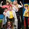 "Record-Eagle photo/Jan-Michael Stump<br /> The cast of ""You're a Good Man, Charlie Brown,"" by the Traverse City Children/Teen Theatre Advanced Musical Theatre Workshop rehearses at the Old Town Playhouse."