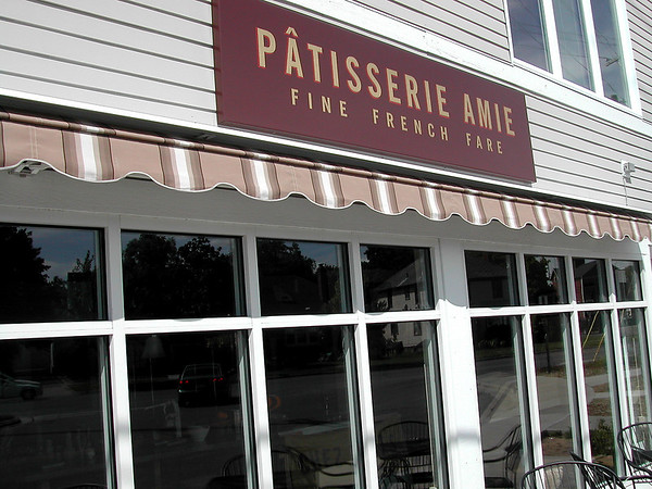 Record-Eagle/Bill O'Brien<br /> Patisserie Amie, a French bistro on Lake Avenue in downtown Traverse City, is the second local business to seek a conditional liquor license through a state law designed to spur redevelopment in specific business districts.
