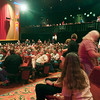 "Record-Eagle/Douglas Tesner<br /> Fans fill the State Theatre to view ""Mike's Surprise."""