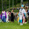 Record-Eagle/Keith King<br /> Dancers prepare for their performance in the Grand Traverse Band of Ottawa and Chippewa Indians' annual Traditional Powwow.