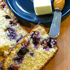 "Record-Eagle/Jodee Taylor<br /> Blueberry Cornbread, prepared from a recipe by Aaron B. Case, printed in the new fair cookbook, ""Recipe and Memories: 100 Plus Years."""