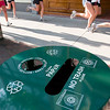 Record-Eagle/Douglas Tesner<br /> The Traverse City Downtown Development Authority organized the placement of 14 recycling bins on a couple of blocks of East Front Street, a pilot program to collect recyclable paper and beverage bottles made from plastic, glass and metal.