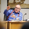Record-Eagle/Jan-Michael Stump<br /> City Commissioner Mike Gillman comments during discussion on a potential Boardman Lake Avenue during Monday's City Commission meeting.