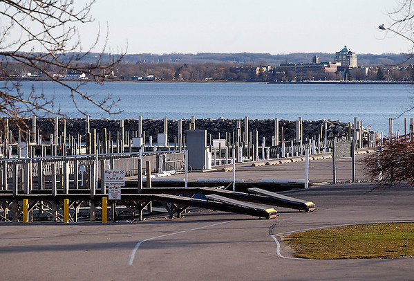 Record-Eagle/Jan-Michael Stump<br /> Elmwood Township Marina could see changes in amenities and parking, including a fish-cleaning station and more boaters' facilities.