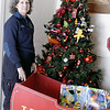 Record-Eagle/Lisa Perkins<br /> Roxan Hessenaur of Traverse City Firefighters, Local 646, says the demand for toys is up and donations are down for the annual Traverse City Fire Department toy drive to benefit children in the Grand Traverse area.