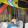 Record-Eagle/Bill O'Brien<br /> John McNeil and Brittany Brubaker recently opened the Wet Mitten Surf Shop in the 101 North Park Street building in downtown Traverse City. The 1,500 square-foot shop features paddle boards, skateboards, apparel and other outdoor recreation products. McNeil and his brother also have a shop in Grand Haven. The shop is open daily and can be contacted at 929-3388. Its website is at wetmitten.com.