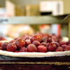 Record-Eagle file photo/Keith King<br /> A cherry pie lies on a rack as it is prepared for baking at the Grand Traverse Pie Company in Traverse City.