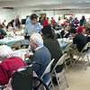 Record-Eagle/Douglas Tesner<br /> More than 1,000 meals where served by Community Christmas Dinner Program volunteers.