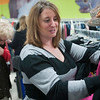 Record-Eagle/Douglas Tesner<br /> Kobi Hall and her mother Nola Hopkins, both of Harrison, shop at Goodwill in Traverse City. The two will be going to five or more resale stores while in town. Hall has found more than 13 resale stores in the area.
