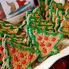Record-Eagle/Douglas Tesner<br /> Christmas Treats await shoppers at the D.O.G. Bakery in downtown Traverse City.