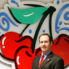 Record-Eagle/Jan-Michael Stump<br /> Trevor Tkach was named interim director of the National Cherry Festival in October.