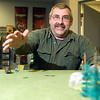 Record-Eagle/Jan-Michael Stump<br /> Mayhem Games owner Don MacIntyre is hosting family nights at the store, where families can come try various miniature, tabletop or role playing games.