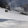 Record-Eagle/Jan-Michael Stump<br /> More snowguns are seen at work at Crystal Mountain on Wednesday in Thompsonville.