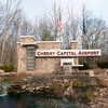 Record-Eagle/Douglas Tesner<br /> The entrance to Cherry Capital Airport.