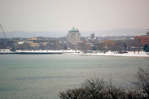 Record-Eagle/Jan-Michael Stump<br /> Traverse City commissioners are moving forward with implementation plans for the city's bayfront, with the Open Space and former zoo at the core of the plan.