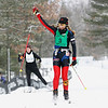 Record-Eagle/Jan-Michael Stump<br /> Amy Powell, of Lake Ann, wins the women's 48k freestyle at Saturday's North American  Vasa.