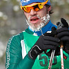 Record-Eagle/Jan-Michael Stump<br /> Freezing temperatures on Saturday left many skiers, like Ryan Harris, with icy beards at the North American Vasa.