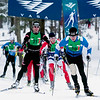 Record-Eagle/Douglas Tesner<br /> Skiers in the North American Vasa participate in the 50k race at Timber Ridge Resort on Saturday.