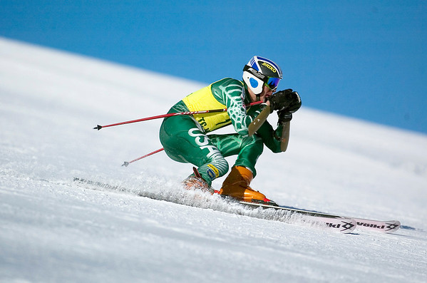 Record-Eagle/Jan-Michael Stump<br /> Ryan Ness and Traverse City West will be competing in Monday's state skiing finals.