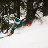 Record-Eagle/Jan-Michael Stump<br /> Traverse City West's Ryan Ness runs the slalom in the state finals Monday at Boyne Highlands.