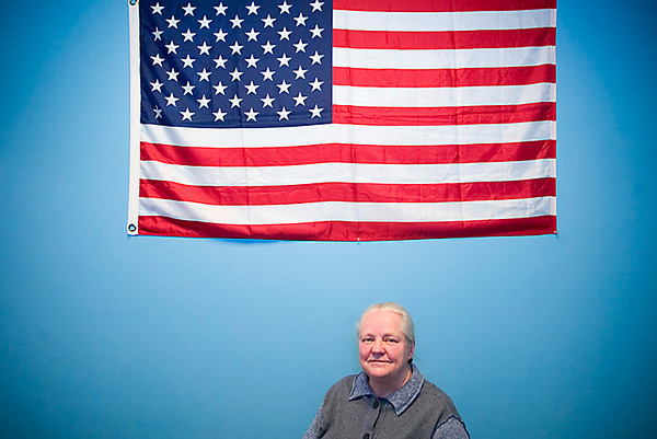 Record-Eagle/Jan-Michael Stump<br /> Manager for the local Census office in Traverse City Nancy Brethhauer said all U.S. Census workers will be wearing an identification badge, most will be carrying a Census bag, and that a real Census worker will never ask for your social security number.