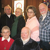 Record-Eagle/Jodee Taylor<br /> Fifty-year-married couples, back row from left, Dale and Eleanora Strange and Joan and Russell Willingham, and, front row, Juanita and Bob King, all of Kingsley.